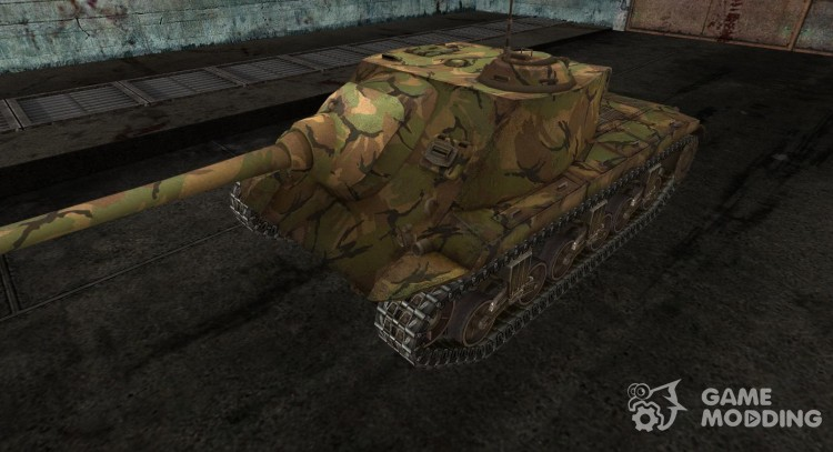 Skin for T25 AT No. 5 for World Of Tanks