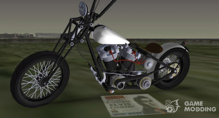 Harley-Davidson Shovelhead for GTA Vice City