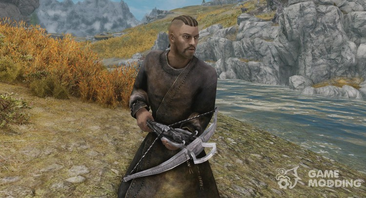 SPOA Silver Knight Crossbow for TES V: Skyrim
