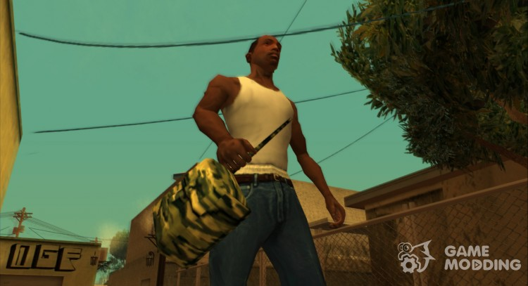 Explosives Retexture (With Original HD Icon) for GTA San Andreas