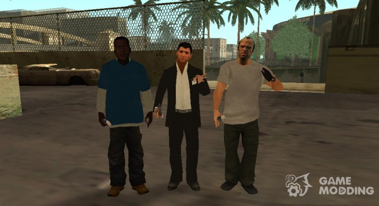 Characters from GTA 5