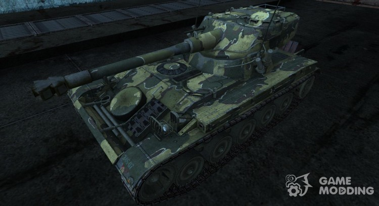 Skin for AMX 13 75 No. 32 for World Of Tanks