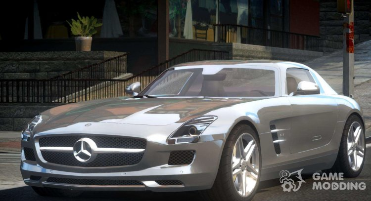 Mercedes-Benz SLS BS A-Style for GTA 4