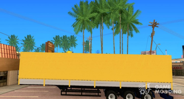 Trailer of Nefaz Truckers 2 for GTA San Andreas