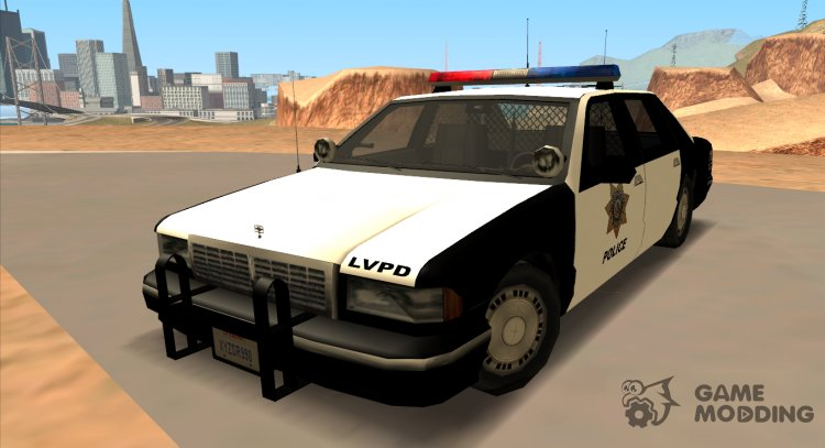 1992 CHEVROLET POLICE LVPD SA STYLE for GTA San Andreas