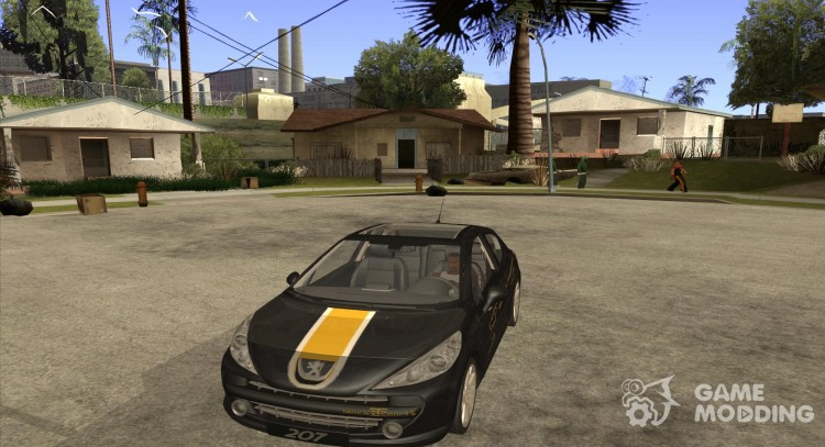 PEUGEOT 207 Griffe LANCARSPORT for GTA San Andreas