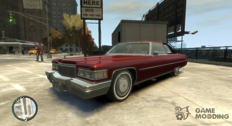 1975 Cadillac Coupe DeVille for GTA 4