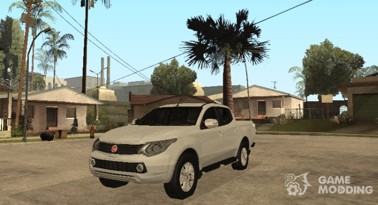 Fiat Fullback for GTA San Andreas
