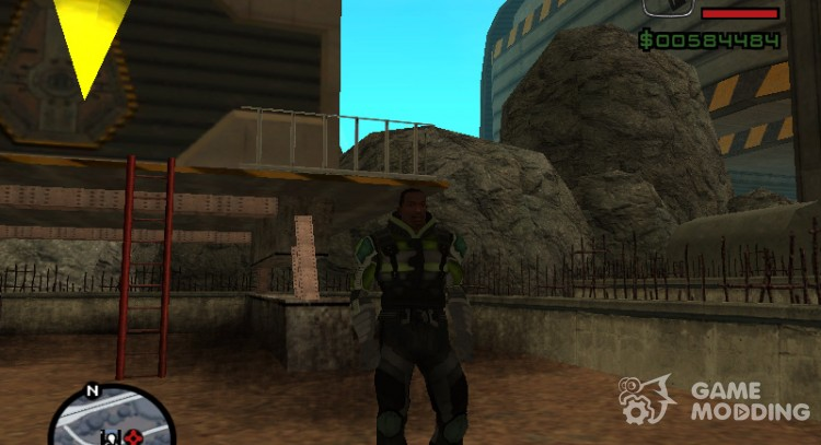 Save for Alien City for GTA San Andreas