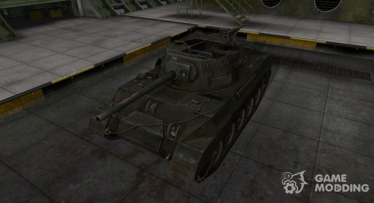 The skin for the American M18 Hellcat tank for World Of Tanks