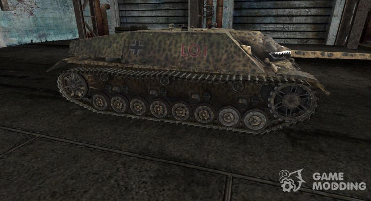 Skin for JagdPz IV for World Of Tanks
