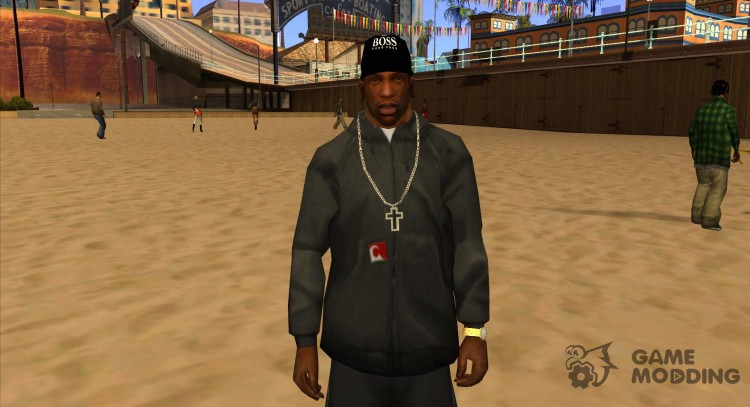 Boss black cap for GTA San Andreas