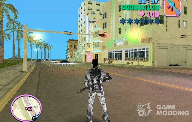 Commando for GTA Vice City