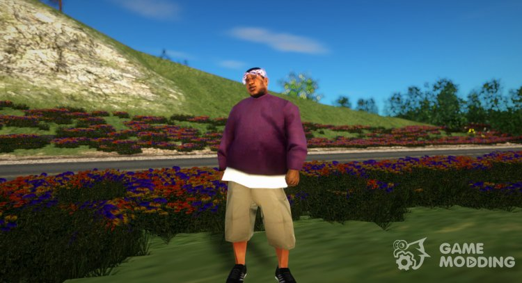 Ballas 2 Big Daddy Persh for GTA San Andreas