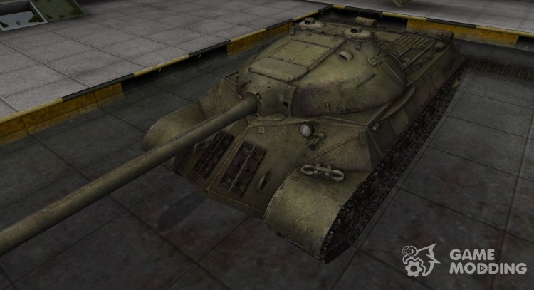 The skin for the is-3 in rasskraske 4BO for World Of Tanks