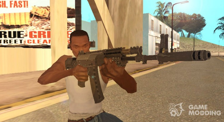 Call of Duty Advance Warfare AK-12 для GTA San Andreas