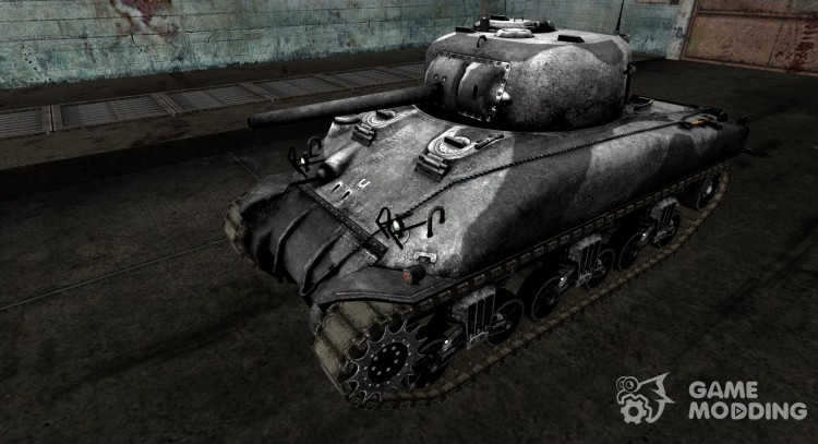 Skin for M4 Sherman for World Of Tanks
