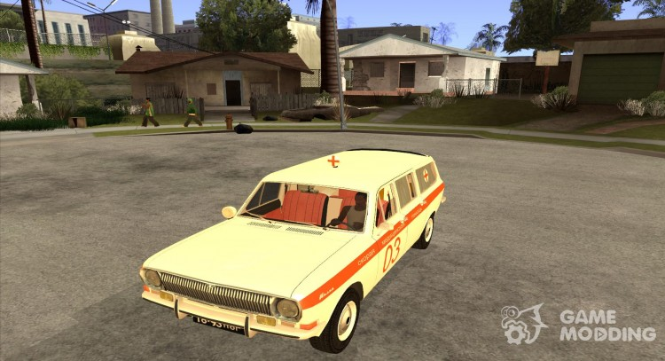 GAZ-24 Volga ambulance 03 for GTA San Andreas