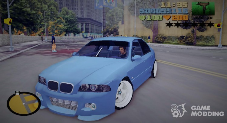 Bmw M5 TUNED for GTA 3