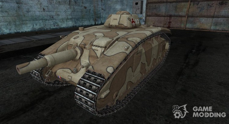 Skin for ARL V39 for World Of Tanks