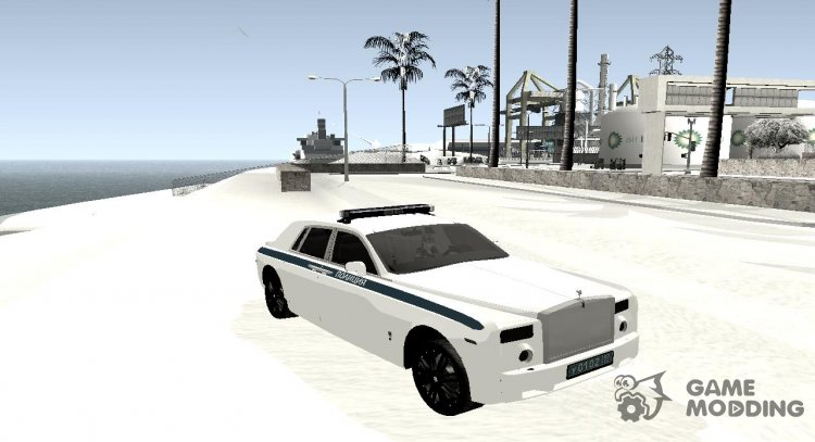 Rolls-Royce Phantom 2018 Police for GTA San Andreas