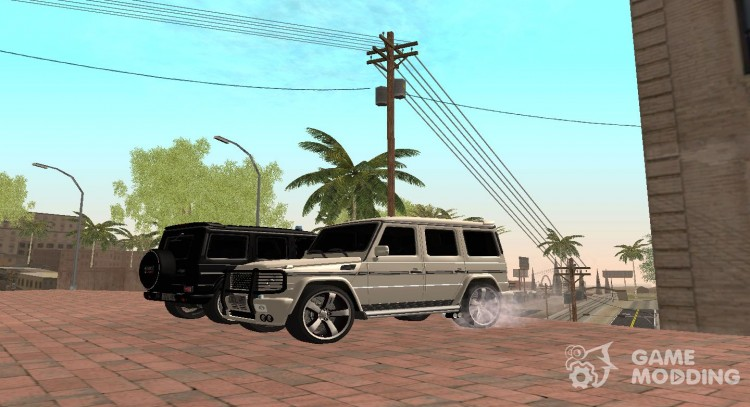 Mercedes Benz G500 AMG Super Fbi for GTA San Andreas