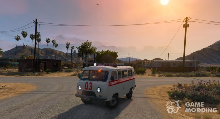 UAZ-3962 Ambulance for GTA 5