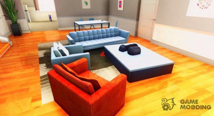 New CJ House Style GTA Online for GTA San Andreas