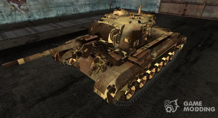 The M26 Pershing daven for World Of Tanks