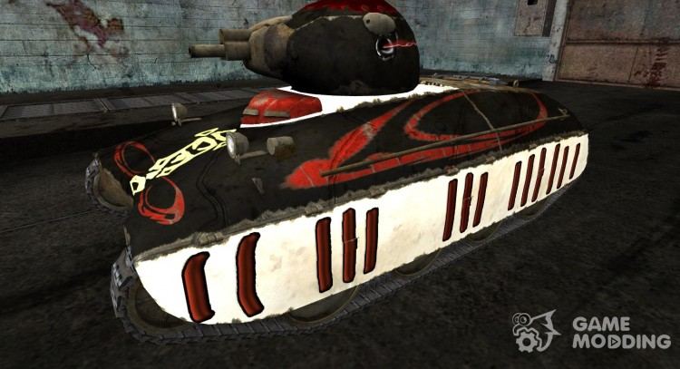 Skin for AMX40 for World Of Tanks