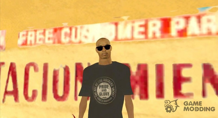 The guy in the gray shirt for GTA San Andreas