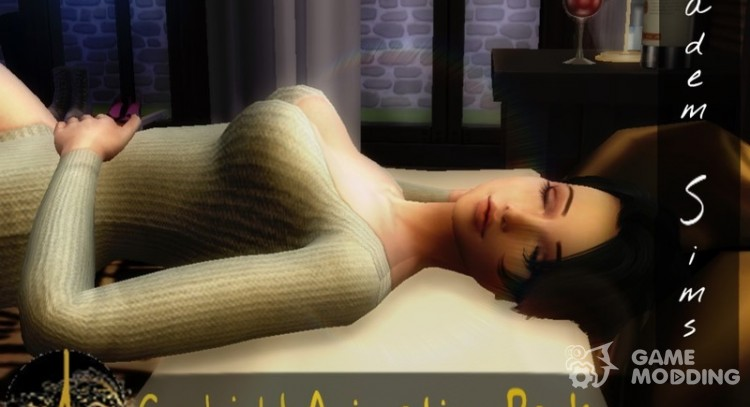 Goodnight Animation Pack for Sims 4