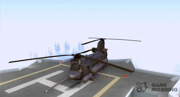 MH-47 g Chinook for GTA San Andreas