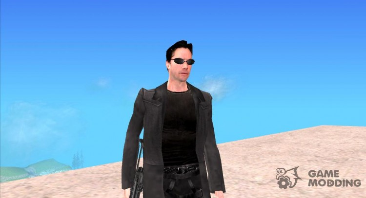 Neo from the matrix for GTA San Andreas