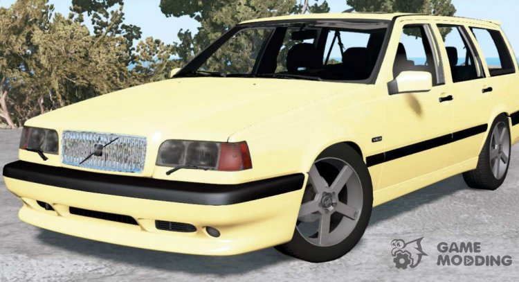 Volvo 850 T5 R Estate 1995 for BeamNG.Drive