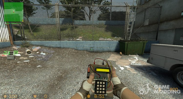 C4 from CS:GO for Counter-Strike Source