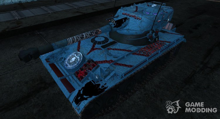 Skin for AMX 13 75 # 17 for World Of Tanks