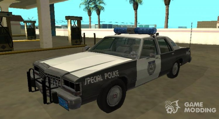 Ford LTD Crown Victoria 1987 Medford Special Police for GTA San Andreas