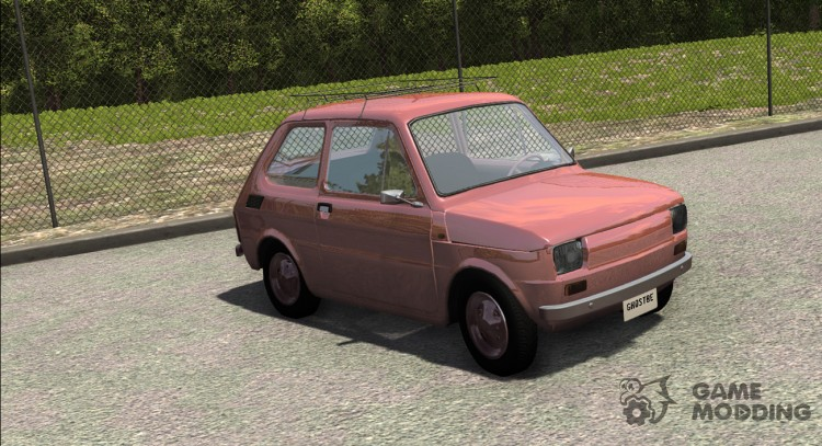 Fiat 126P for BeamNG.Drive
