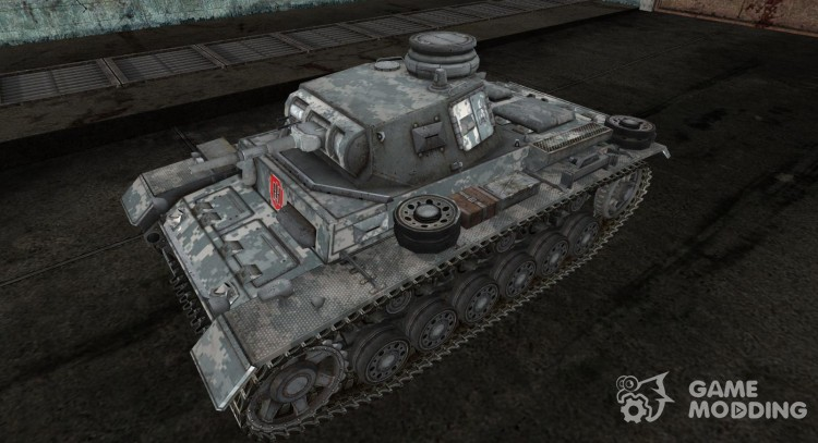 Panzer III 07 for World Of Tanks