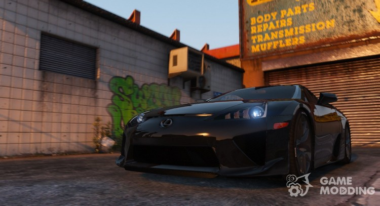 2010 Lexus LFA v1.3 for GTA 5