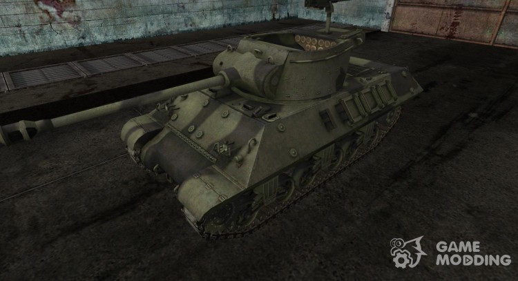 Skin to M36 Slugger for World Of Tanks
