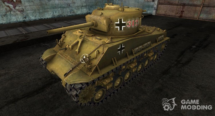 M4A3 Sherman from Steiner for World Of Tanks