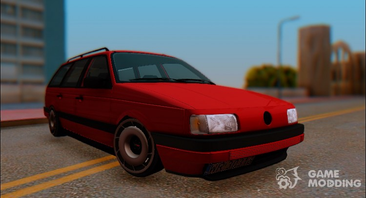 Volkswagen Passat B3 Variant Stanced for GTA San Andreas