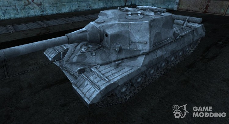Skin on A 268 for World Of Tanks