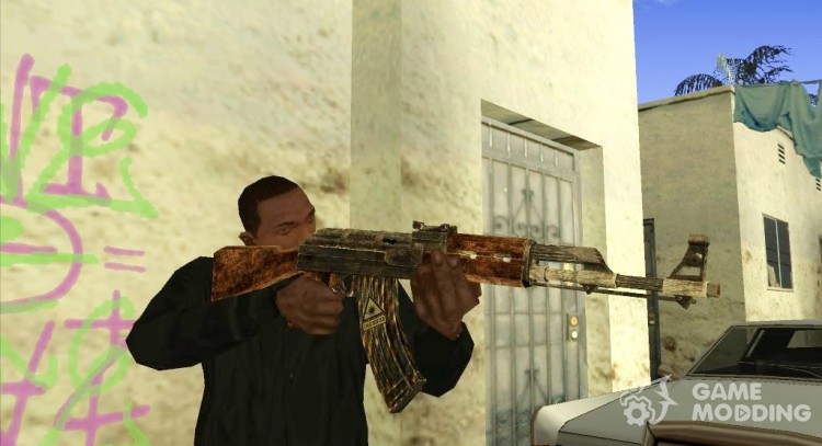 Ak47 Postapokalipsis for GTA San Andreas
