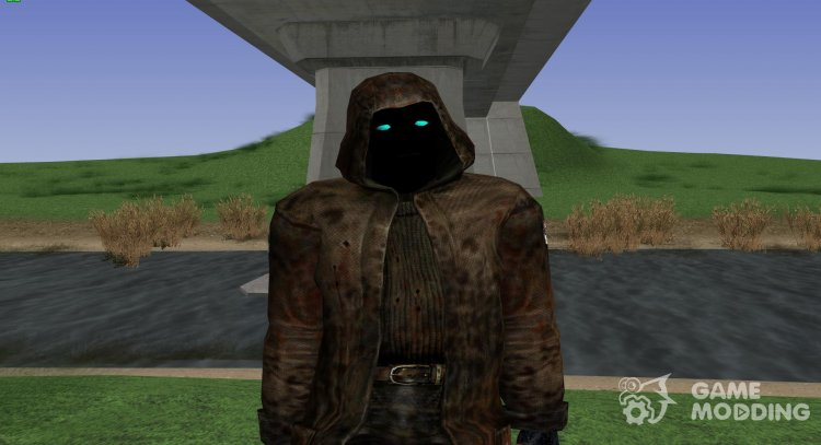 A member of the group Marked by the Zone from S. T. A. L. K. E. R V. 2 for GTA San Andreas