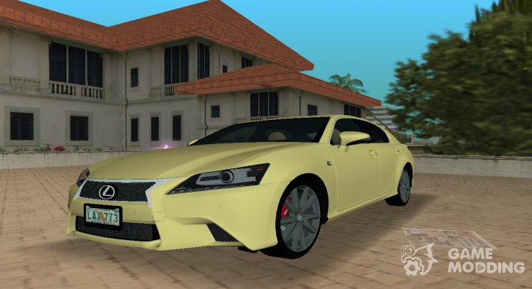 2013 Lexus GS 350 F Sport for GTA Vice City