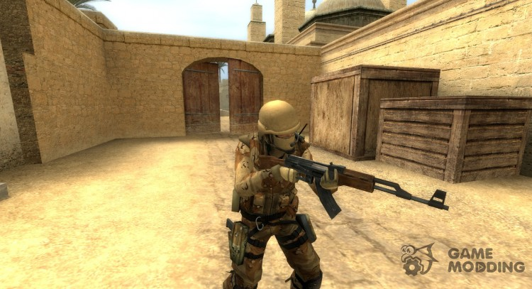 Default ct_urban with Desert CAMO (BETA 0.1) for Counter-Strike Source