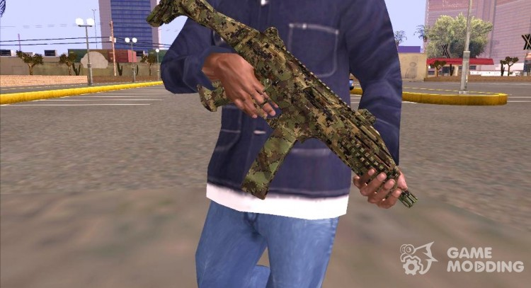 Bf4 Scorpion Camo for GTA San Andreas